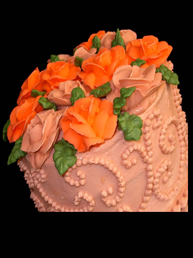 Deliciously Yours Wedding Cake